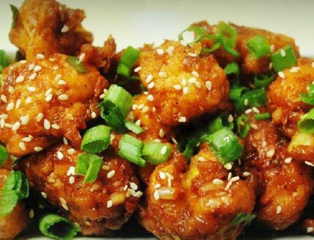 Kínai szezámmagos rántott karfiol recept